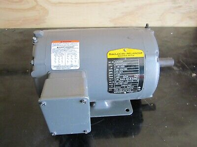 Baldor 2 HP Totally Enclosed Air Over Motor AOM3558T 3 Phase -