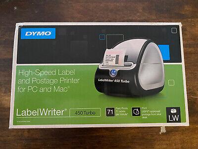 Dymo Label Printer Labelwriter 450 Turbo Direct Thermal Label Printer Fast