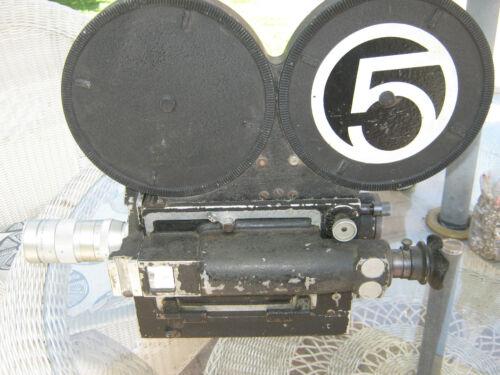 Classic Hollywood MITCHELL 16mm Film STUDIO MOVIE CAMERA  w/ rackover finder