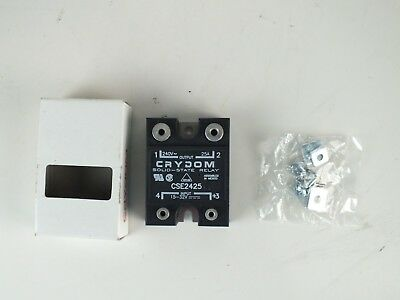 New Crydom Cse2425 Solid State Relay - Industrial Mount 25a 240v Dc In