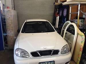 1999 Daewoo Lanos Sedan Bundall Gold Coast City Preview