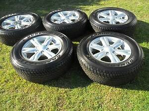 ISUZU MUX-D.MAX 17 INCH WHEELS/TYRES [  5  ] AS NEW Wallsend Newcastle Area Preview