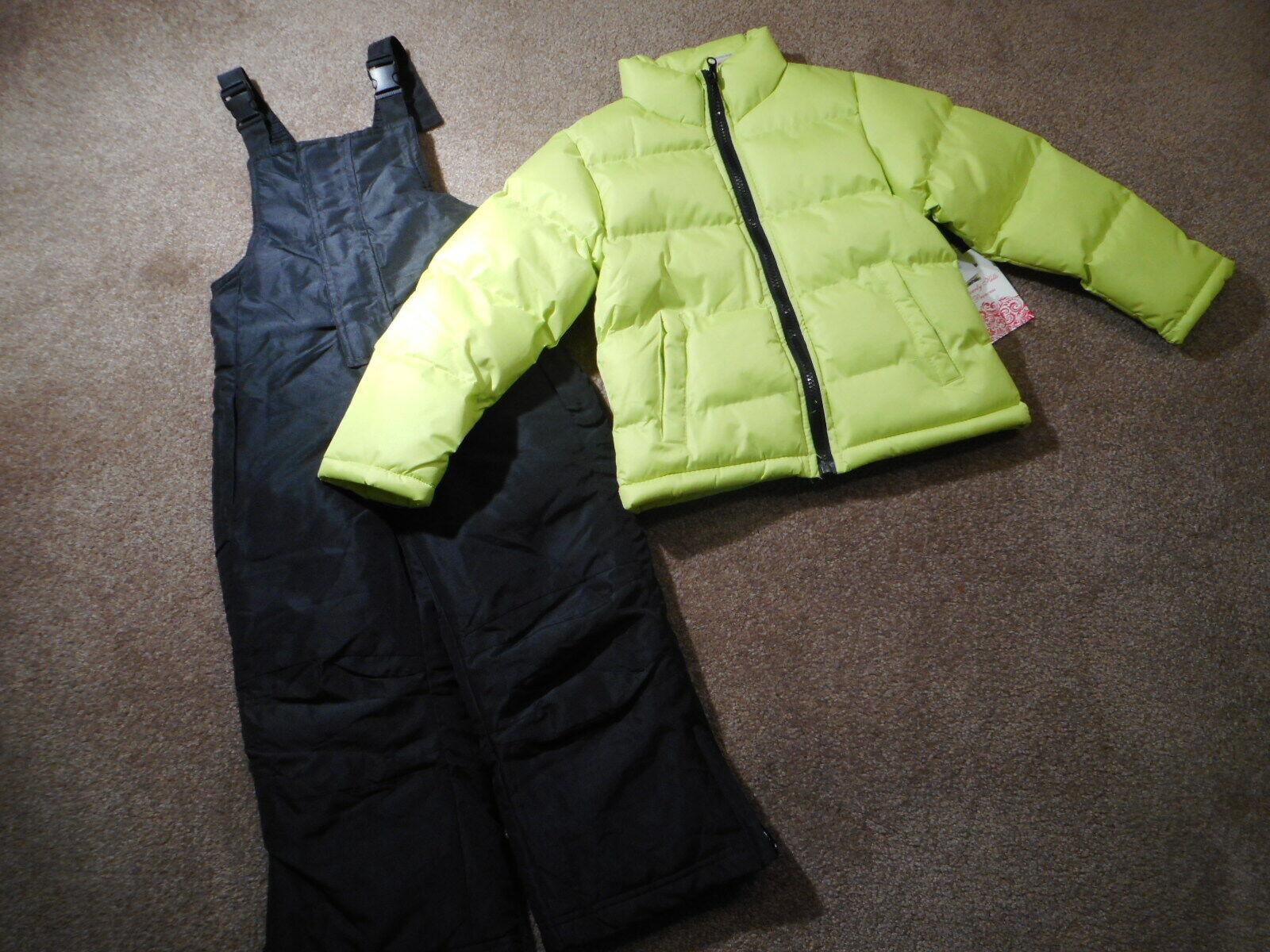 Snowsuits Coats Girls Outerwear Yellow Puffer jackets Black
