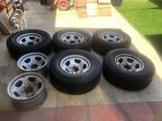 80 series GXL steel rims  for sale Fremantle Fremantle Area Preview
