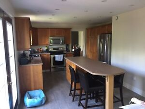 SOLD!! Pending pick up. Custom Cherry Kitchen Cabinets.
