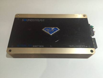 Soundstream STL 4.500 Amplifier Clayton South Kingston Area Preview