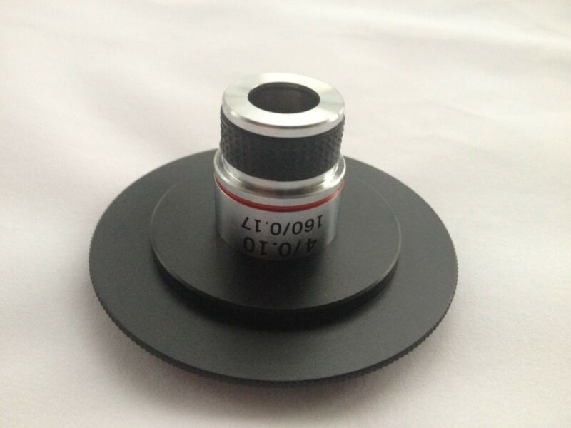 Canon EOS To RMS Microscope Objective Kit For Micro Photography W/ 4X Objective