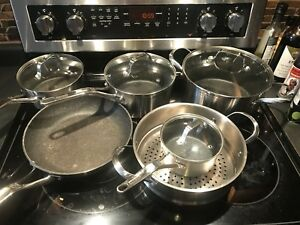 Stainless steel - The Rock pots and pan