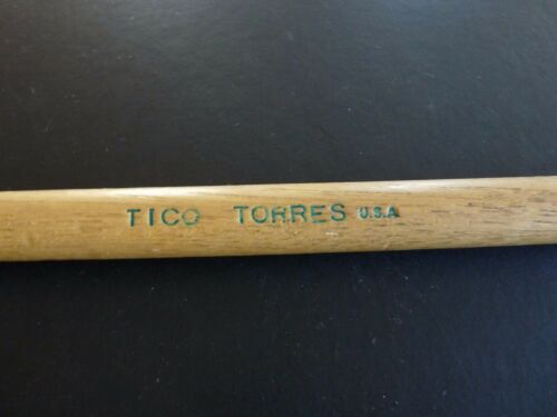 Tico Torres Bon Jovi Tour Issued Drum Stick Drumstick 1986 Slippery When Wet