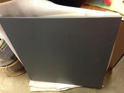 Multi Purpose Dark Grey Metal Access Panel - Door See Photos For Sizing