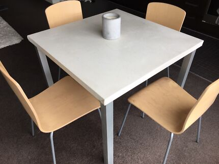 ikea dining table and 2 x chair set dining tables gumtree
