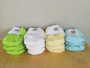REDUCED Bamboo Baby AIO Cloth Diapers