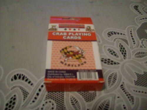 Maryland Crab Playing Cards - NIB