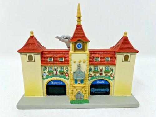Disney Parks Epcot Germany Pavilion Christmas Ornament World Showcase Facade NWT