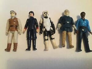 VINTAGE Kenner STAR WARS: FIGURES AND PARTS
