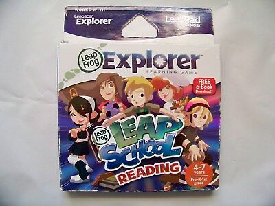 Leapfrog Explorer Learning Leap School Reading Leappad Learning Game  Box Scuff