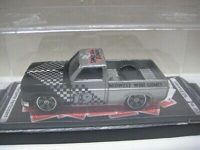 HOT WHEELS MINT IN CASE 1 OF 96 MADE FOR MID WEST WAR GAMES '83 SILVERADO #