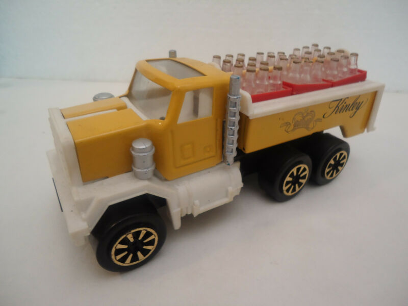 Vintage Rare Bulgarian KINLEY Tonic by Coca Cola Tin Truck Toy