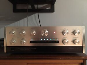 Restored Accuphase Preamp & Power-amp Combo