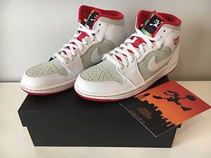 Air Jordan 1 Mid Hare Carlton Melbourne City Preview