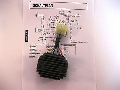 Kubota Lichtmaschinenregler Limaregler Regler Laderegler Lima Gleichrichter