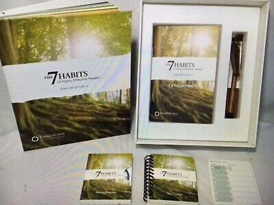 Franklin Covey The 7 Habits Of Highly Effective People Signature Edition 4.0 (7 Habits Of Highly Effective People Franklin Covey)