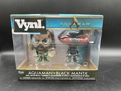 Funko Vynl Aquaman - 2PK - Aquaman and Black Manta Brand New Figure
