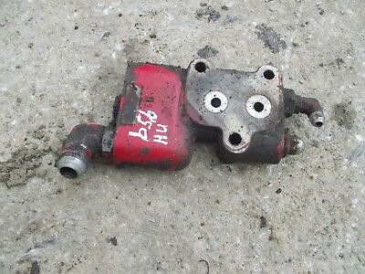 Farmall Ihc 656 Rc High Utility Tractor Ih Power Steering Assist Flow Valve Bloc