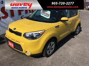 2016 Kia Soul LX BLUETOOTH, CRUISE CONTROL, MP3 INPUT
