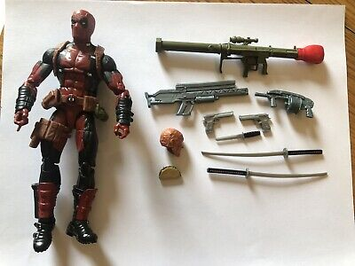 Marvel Legends Deadpool Action Figure 100% Complete NO BAF Juggernaut Series