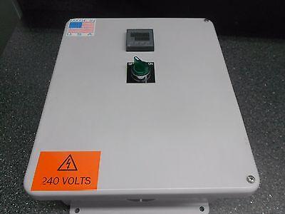 Hubbell Wiegman Hw-j121005chsc Enclosure Pump Control Fuji Sc-e2 40a Contactor