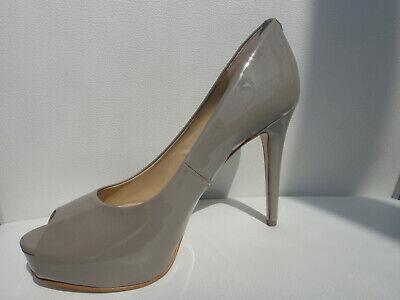 GUESS Pumps High Heel Peeptoe 38 39 41 grau beige  Neu  Guess High Heel Heels