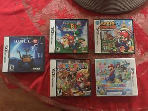 Nintendo DS, 3DS and Gameboy Advance Games