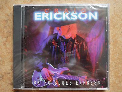 Craig Erickson-RETRO BLUES EXPRESS (US IMPORT) CD NEW SEALED SHRAPNEL