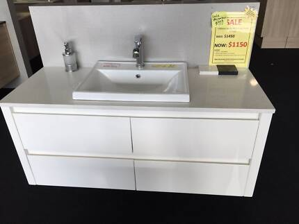 Bathroom Wall Hung Vanity SALE Canning Vale Canning Area Preview