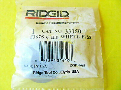 New Ridgid Replacement Cutter Wheel 33150 F367s Hd For 6s 42850 Pipe Cutter Nip