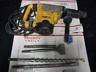 Dewalt D25701 1-78 48mm Sds Max Hammer Drill W 4 Fittings