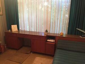 GERTNER BESPOKE SINGLE BED UNIT WITH ATTACHED DESK CONSOLE Caulfield North Glen Eira Area Preview