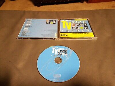 Best Of TV Quiz & Game Show Themes (CD, 2000) Good to VG Free Shipping in