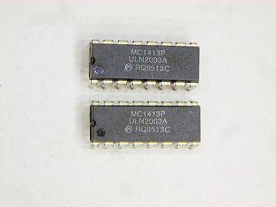 Mc1413p Original Motorola Aka Uln2003a 16p Dip Ic 2 Pcs