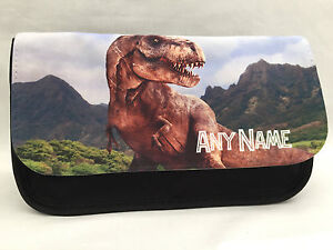 Jurassic dinosaur pencil case - Personalised, any name