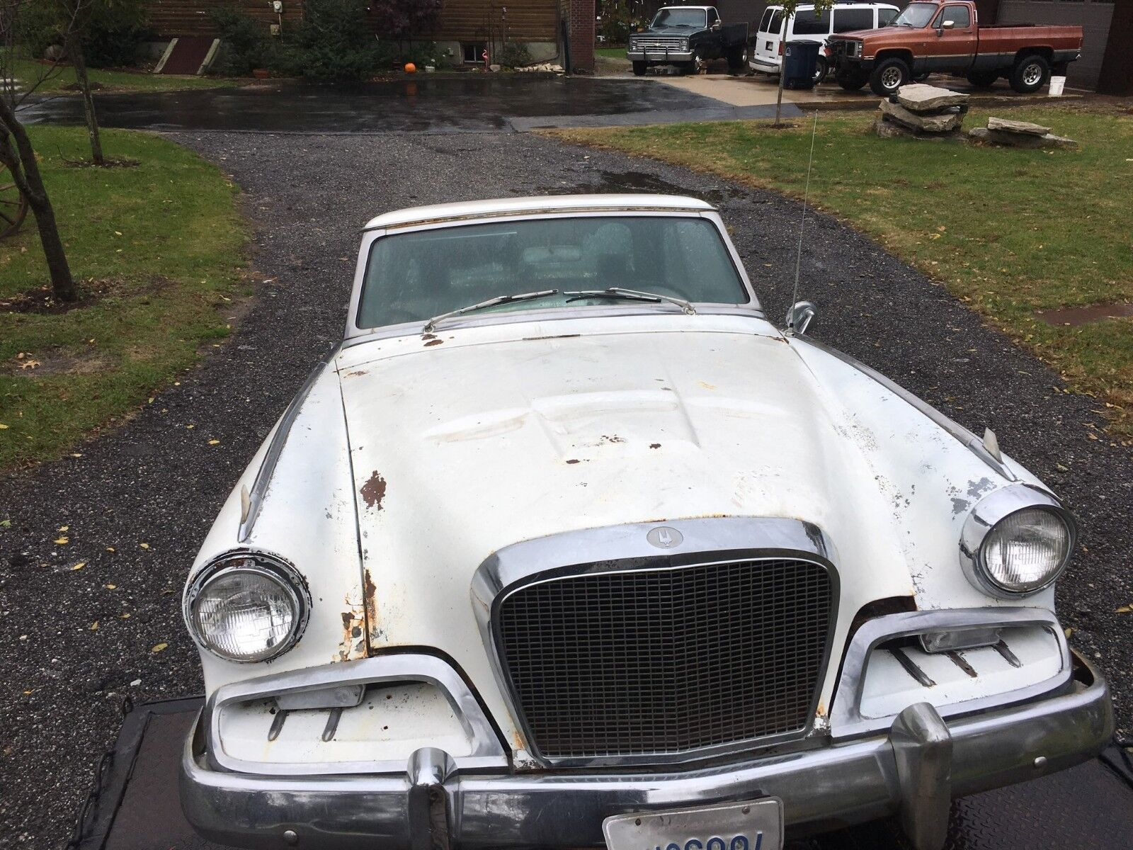 1962 Studebaker Hawk  1962 Studebaker GT Hawk - Rust Free California Car - Running, Driving