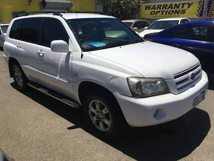 2004 Toyota Kluger CVX Auto 4x4 7-Seater SUV $5999 Kenwick Gosnells Area Preview