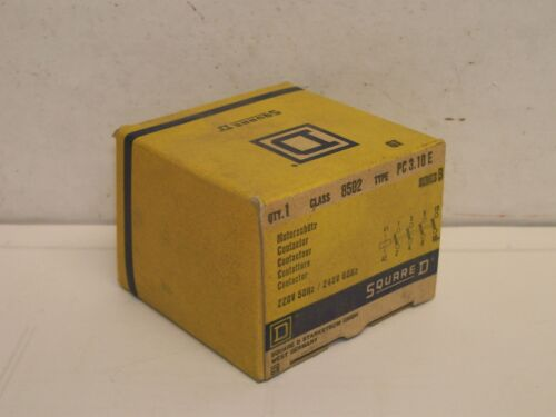 SQUARE D 8502 TYPE PC 3.10 E SERIES B CONTACTOR NOS FREE SHIPPING