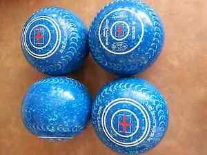 Taylor REDLINE SR Lawn Bowls Size 3H WB25 Gripped 2 Tone Blue Spk Surfers Paradise Gold Coast City Preview