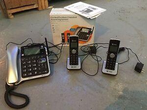 Ensemble de 3 téléphones résidentiel
