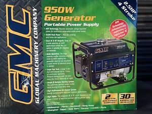 Generator GMC GEN950 4 stroke 28Kg unused & original mint cond Sefton Park Port Adelaide Area Preview