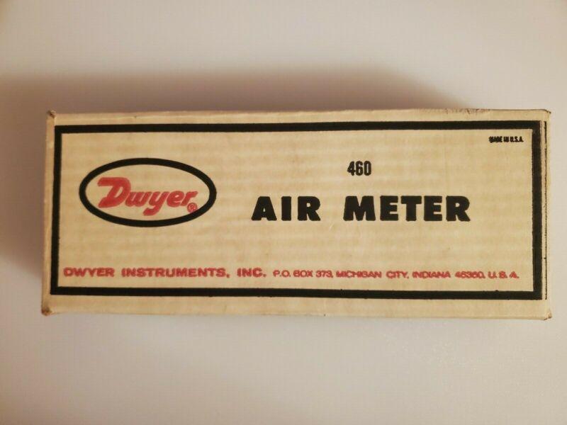 DWYER No. 460 AIR METER