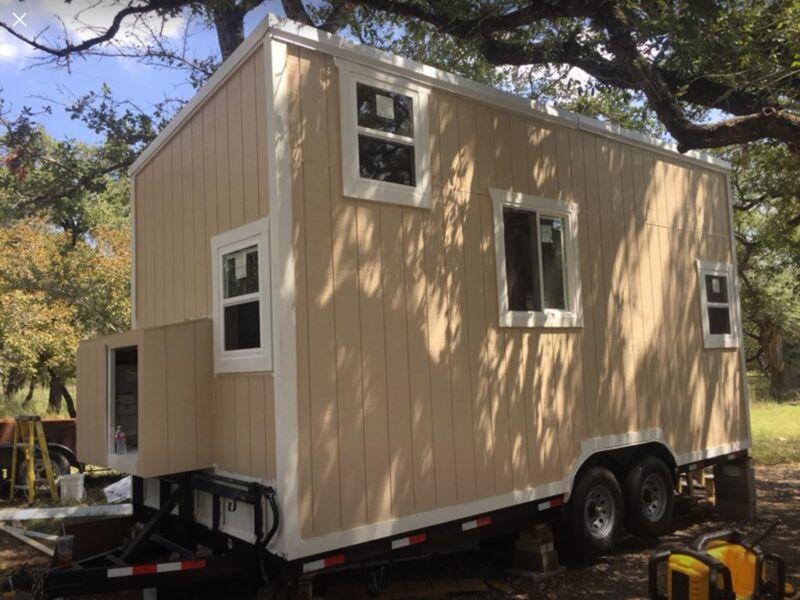 20' tiny trailer house home