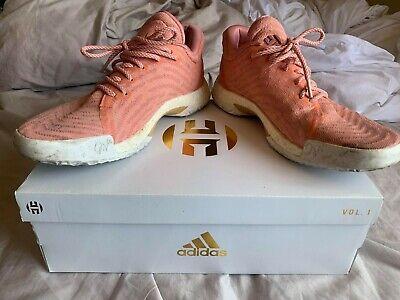 Adidas James Harden Vol. 1 LS Sweet Life Size US 10 - Salmon Pink
